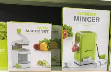 Set mincer and slicer (Kitchen and Dapur Set)