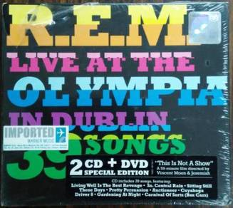 IMPORTED CD R.E.M. Live At The Olympia In Dublin