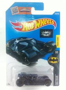 Hotwheels TDK Batmobile Tumbler #3 Black Blue Win