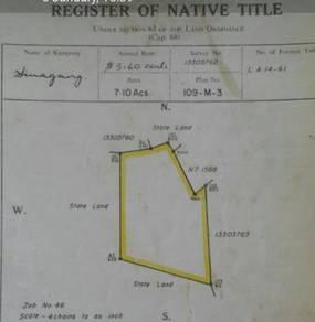 Tanah Ladang 1000 pokok Jati untuk dijual