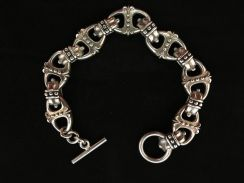 Genuine 925 silver 925 bracelet 2200048 69.65grams
