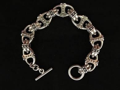 Genuine 925 silver 925 bracelet 2200048 69.65grams