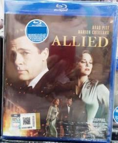 Blu-ray ALLIED Brad Pitt Blu-ray