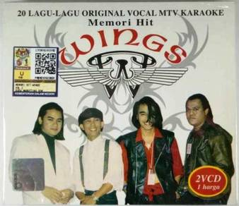 Wings Memori Hit 20 Lagu Original VCD MTV Karaoke