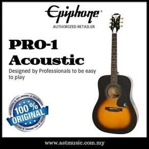 Epiphone pro-1 acoustic guitar sunburst
