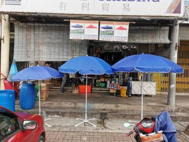 Outdoor Hawker umbrella / payung pasar / canopy