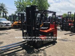 FULLY Import JAPAN TOYOTA 2 ton Electric FORKLIFT