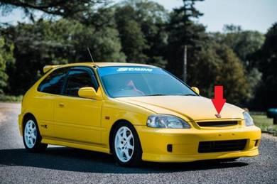 Honda Civic EK9 Type R Front H Emblem EK4 Japan