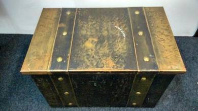 Antique Rare Coal Scuttle