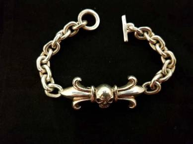 Genuine 925 silver 925 bracelet 2200048 73.20grams