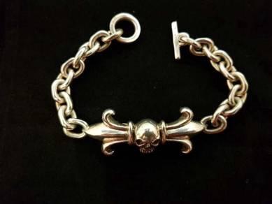 Genuine 925 silver 925 bracelet 2200048 73.20grams