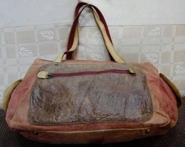 Shoulder Bag Fully Leather Cuir Jouer Culas
