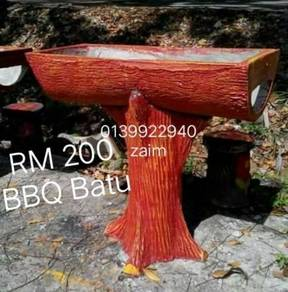 Kerusi batu dan bbq batu