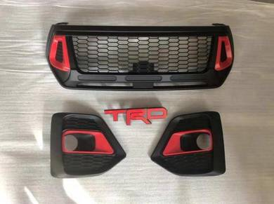 Toyota hilux revo rocco trd front grill grille 3