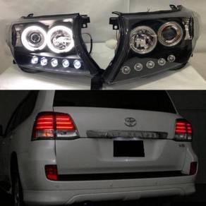Toyota Land Cruiser Fj200 Head Lamp Led Tail Lamp