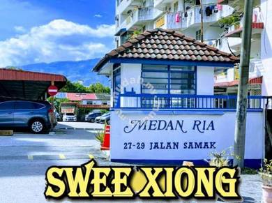 MEDAN RIA BEDROOM FOR RENT FullyFurnished + AirCon ONLY RENT TO WOMAN