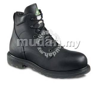 Safety Shoe Red Wing Mid 6Inch Black EH ST PR 3507