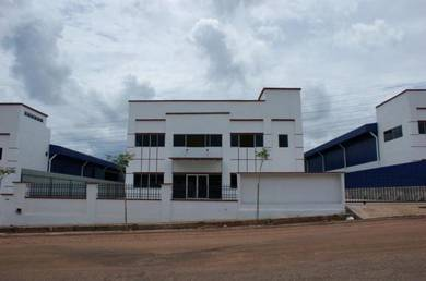 A Detached Factory Warehouse with A Double Storey Office