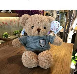50cm Green Shirt Bear Bear Plush Toy