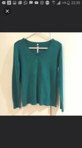 Green V Neck Sweater ( Price Reduced !!! )