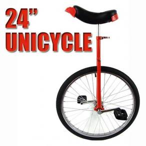 Unicycle 24 inch high quality (red)