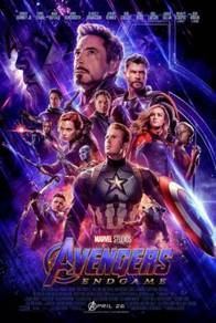 Poster MOVIE MARVEL AVENGERS ENDGAME 4