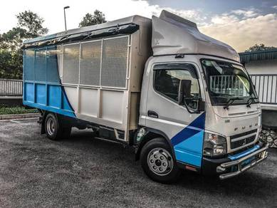 NEW Lori Mitsubishi Fuso Steel Cargo Aluminium Top