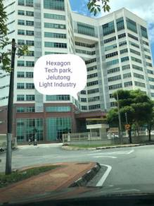 Hexagon Tech Park Light Industrial Jelutong with 3 phase electric