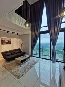 Fully furniture renovated Duplex condo in almas Puteri harbour