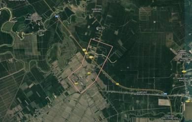 Industrial land to let on northern Perak, 30 mins to Pulau Pinang