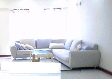 Sofa fabric l-shape, self pick up taman cheras