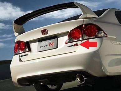 Honda Civic FD2 Type R Rear Emblem Logo FD2R Japan