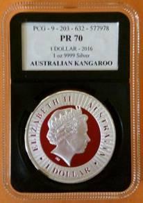 2016 Australia kangaroo coin