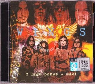CD Best of Wings + Mael