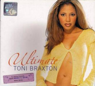 CD TONI BRAXTON Ultimate The Best of