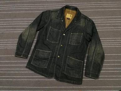 Gap denim jacket saiz XL