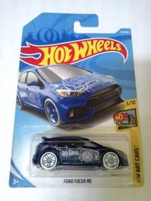 Hot Wheels 2018 - FORD FOCUS RS