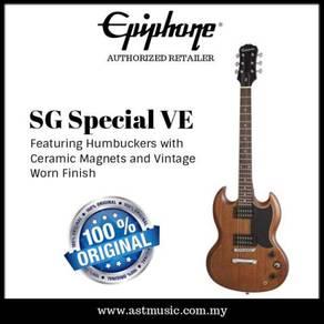 Epiphone sg special ve wallnut