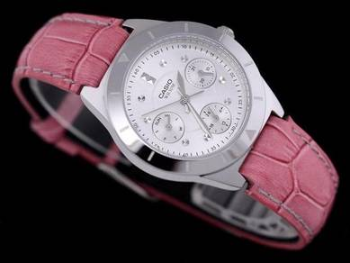 Watch - Casio Ladies Leather LTP2083-4A -ORIGINAL