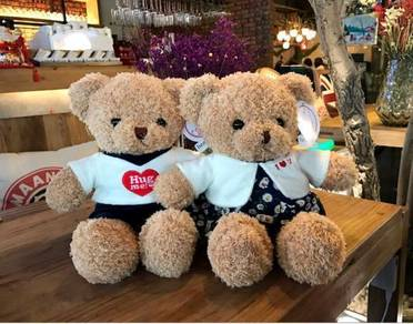 30cm Couple Bear Bear Plush Toy