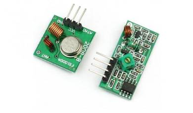 433Mhz RF Transmitter Receiver module for arduino
