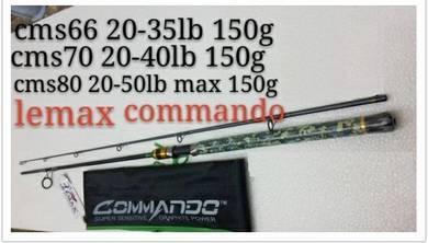 LEMAX COMMANDO Fishing Rod Joran Pancing