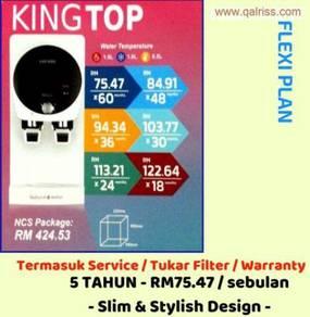 Penapis Air Cuckoo King Top - 5 thn FREE Service