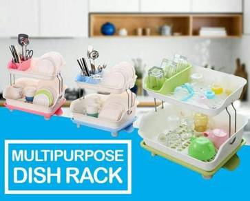 Multipurpose dish rack (hijau)