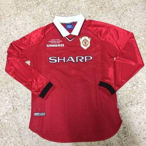 Manchester united 98/99 long seelve jersey
