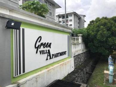 GOOD FOR INVESTMENT Groundfloor Green Villa Apartment Sg Tangkas Bangi