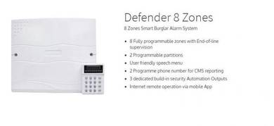 Alarm system (home and office) and alarm service