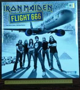 VINYL IRON MAIDEN Flight 666 LP Records