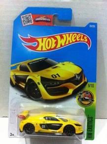 Hotwheels Renault Sport R.S. 01 #9 Yellow