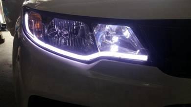 Car daylight all car led lightbar DRL LIGHT